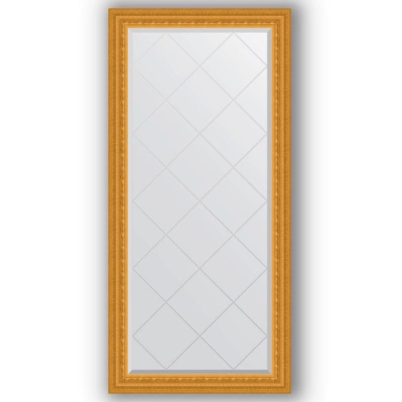 Зеркало Evoform Exclusive-G 157х75 Виньетка античная латунь зеркало evoform exclusive g 185х130 виньетка античная латунь