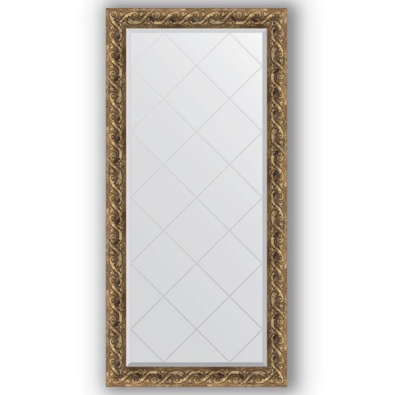 Зеркало Evoform Exclusive-G 158х76 Римское серебро зеркало evoform exclusive g 186х131 римское серебро