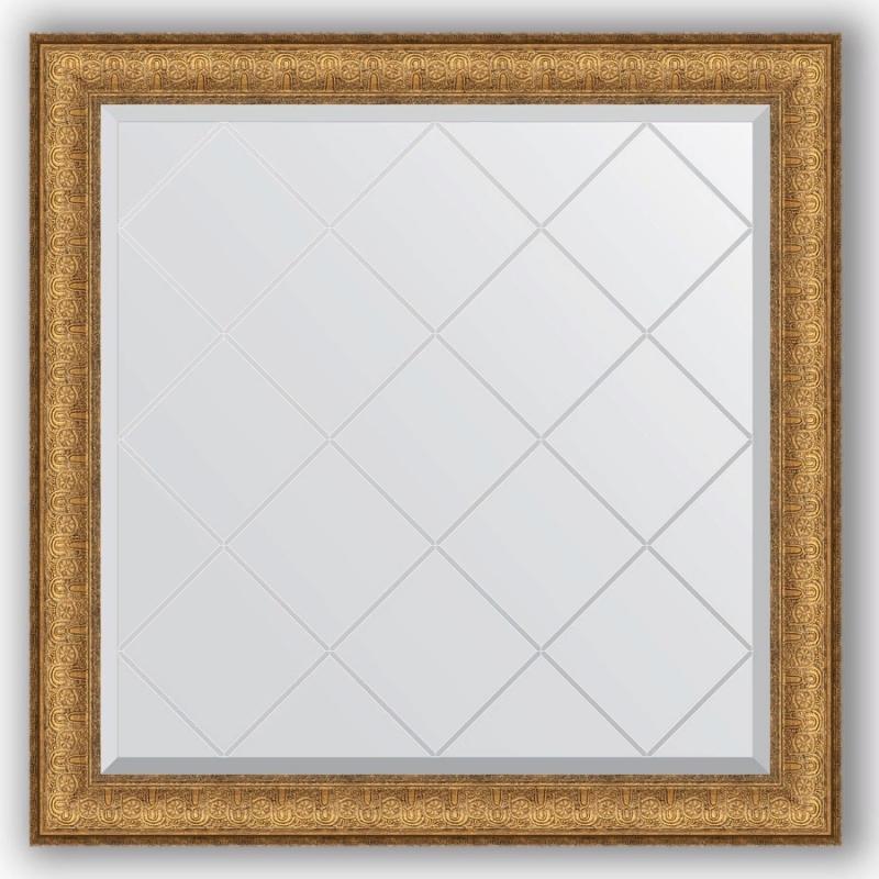 Зеркало Evoform Exclusive-G 84х84 Медный эльдорадо