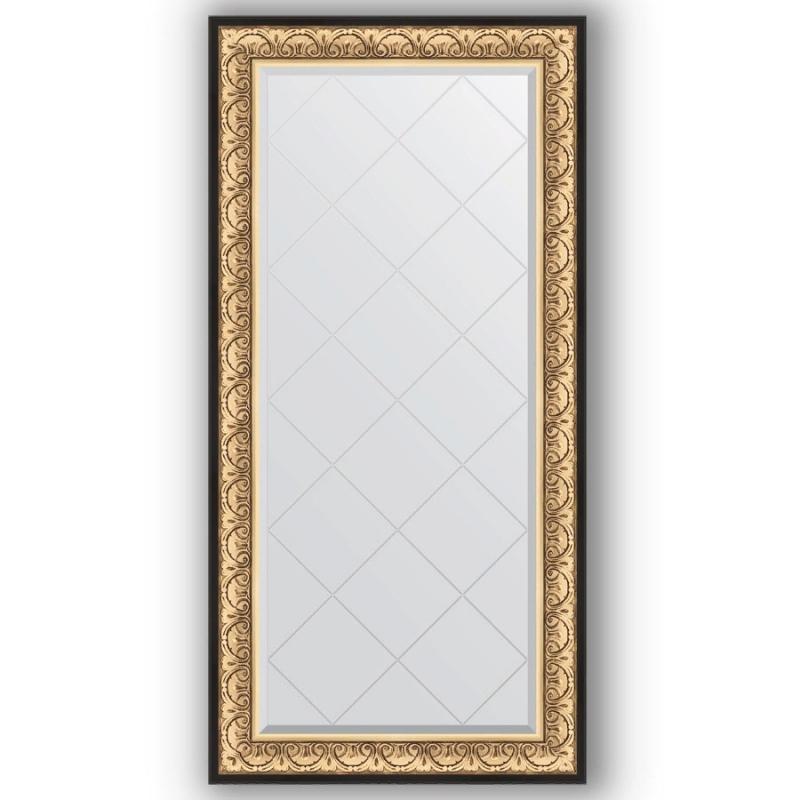 Зеркало Evoform Exclusive-G 162х80 Виньетка состаренная бронза