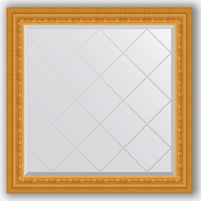 Зеркало Evoform Exclusive-G 85х85 Виньетка античная бронза зеркало evoform exclusive 165х75 виньетка античная бронза