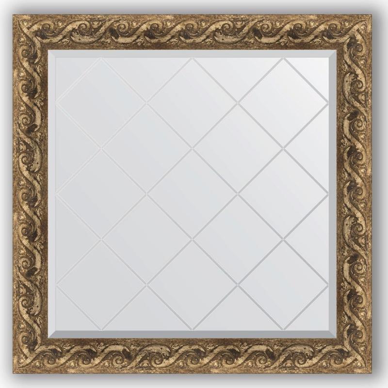 Зеркало Evoform Exclusive-G 86х86 Хамелеон