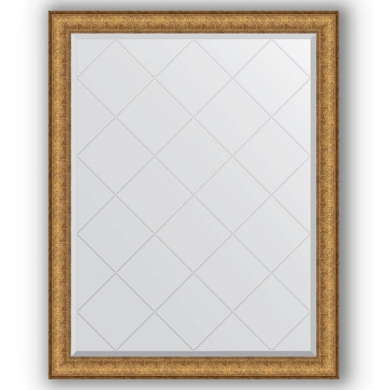 Зеркало Evoform Exclusive-G 119х94 Медный эльдорадо