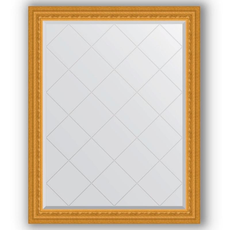 Зеркало Evoform Exclusive-G 120х95 Виньетка античная латунь зеркало evoform exclusive g 185х130 виньетка античная латунь