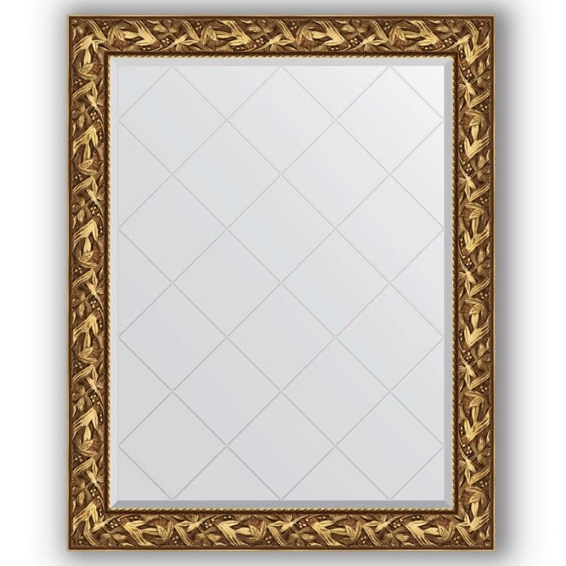 Зеркало Evoform Exclusive-G 124х99 Травленая бронза