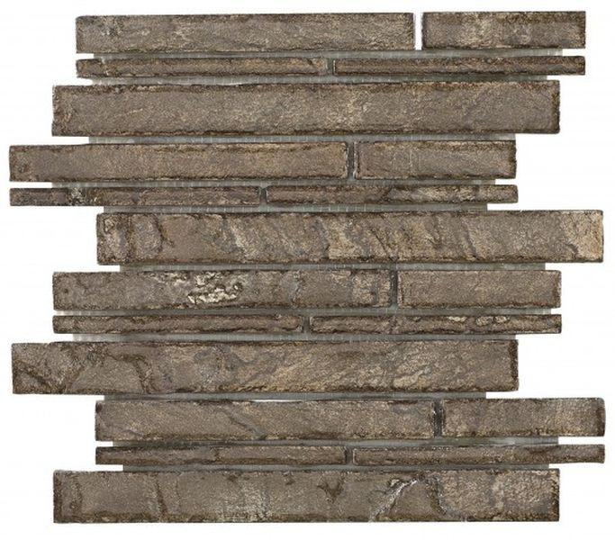 Керамическая мозаика Dune Stone Mosaics Duende Copper 30х30 см цены онлайн