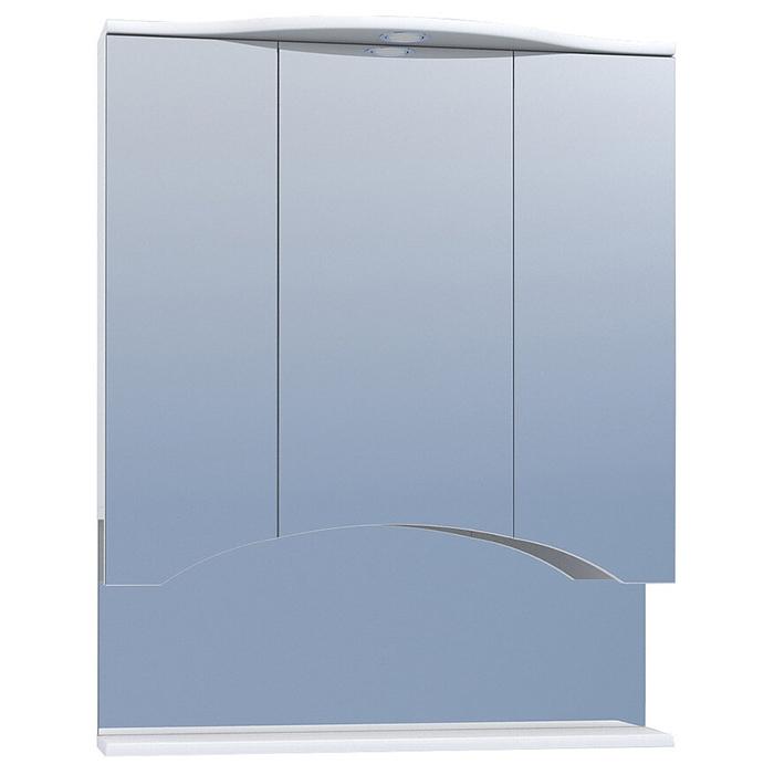 Зеркальный шкаф Vigo Atlantic 75 с подсветкой Белый зеркало шкаф vigo atlantic 16 550пр белый 2000170715504