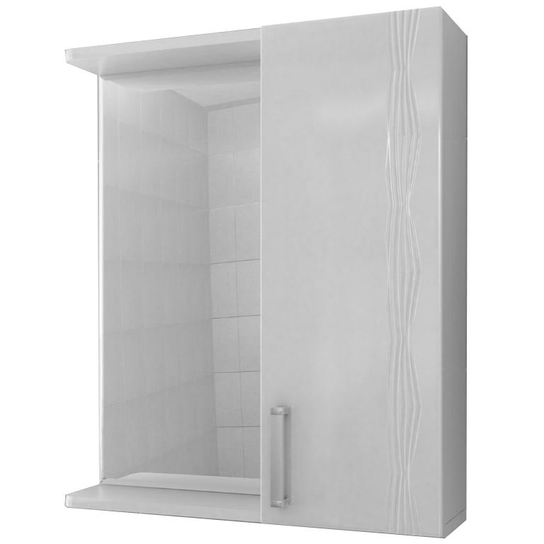 Зеркало со шкафом Vigo Atlantic 16-550 R Белое зеркало шкаф vigo atlantic 16 550пр белый 2000170715504