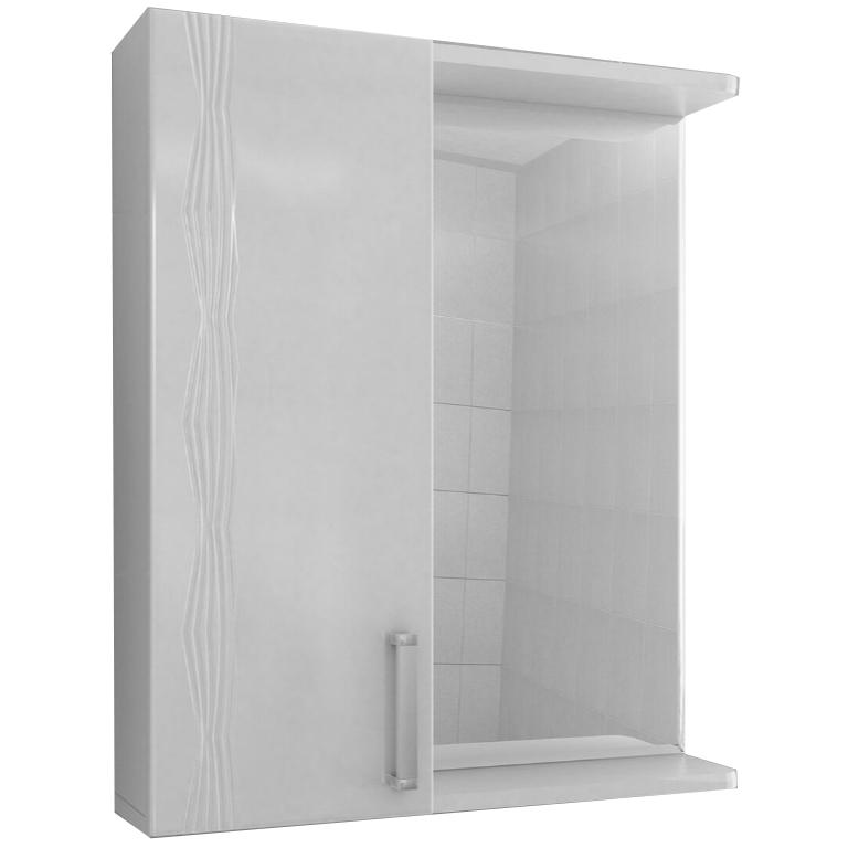 Зеркало со шкафом Vigo Atlantic 16-550 L Белое зеркало шкаф vigo atlantic 16 550пр белый 2000170715504