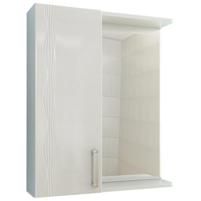 Зеркало со шкафом Vigo Atlantic 16-600 L Белое зеркало vigo 19 600 л jika