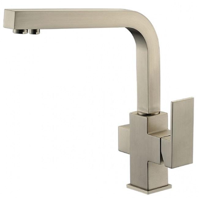 Фото - Смеситель для кухни Kaiser Sonat 34044-5 Серебро смеситель для кухни мойки kaiser sonat 34044 5 однорычажный