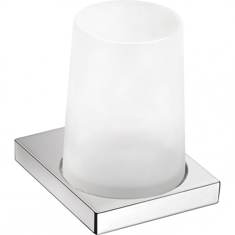 Стакан для зубных щеток Novella Edizione ED-01111 Хром ed 64 ваза ящерица
