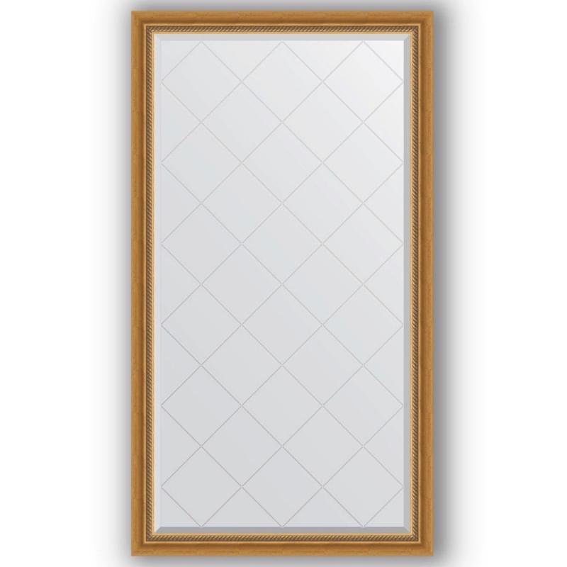 Зеркало Evoform Exclusive-G 168х93 Состаренное серебро с плетением зеркало evoform exclusive g 128х73 состаренное серебро с плетением