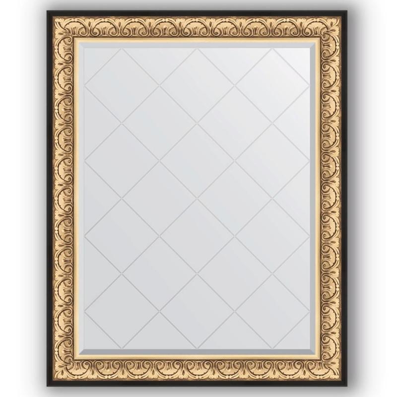 Зеркало Evoform Exclusive-G 125х100 Барокко серебро фото