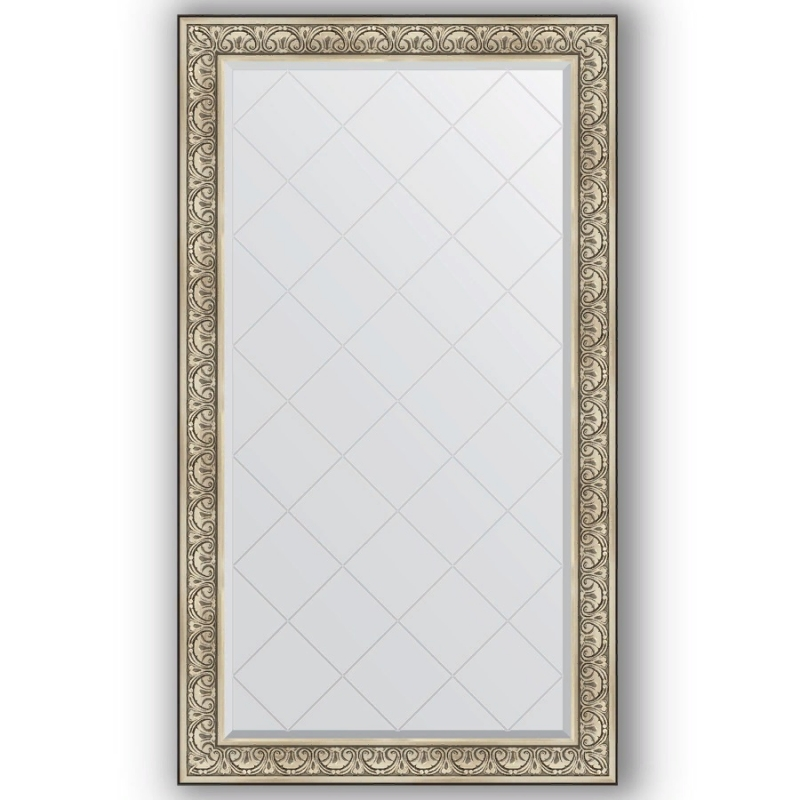 Фото - Зеркало Evoform Exclusive-G 175х100 Барокко золото зеркало с гравировкой поворотное evoform exclusive g 70x160 см в багетной раме барокко золото 106 мм by 4165