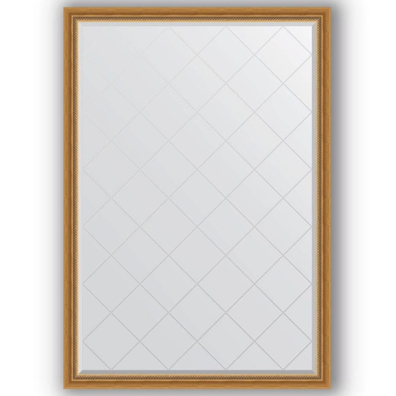 Зеркало Evoform Exclusive-G 183х128 Состаренное серебро с плетением зеркало evoform exclusive g 128х73 состаренное серебро с плетением