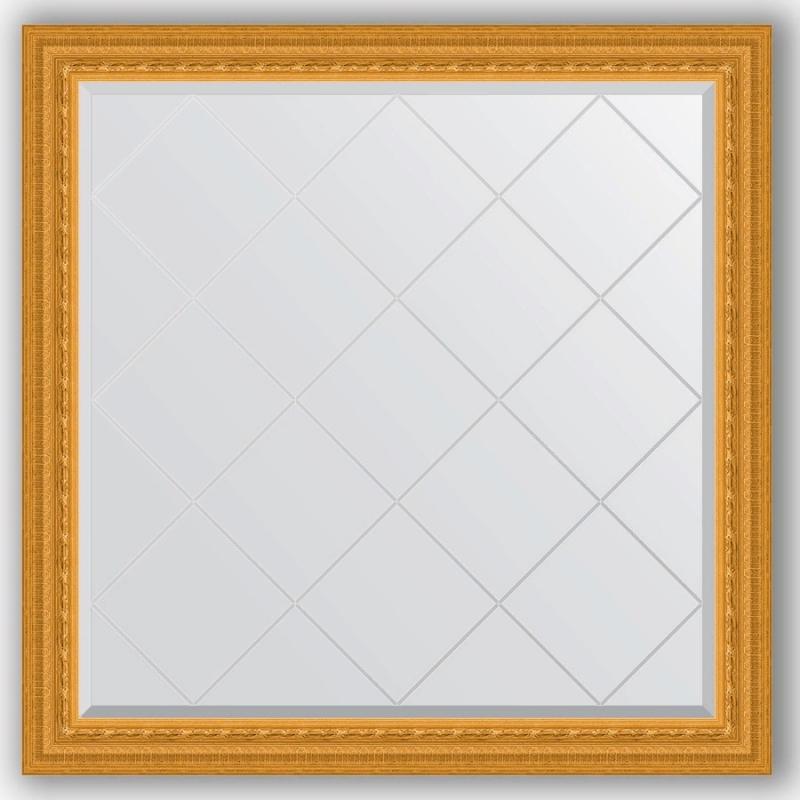 Зеркало Evoform Exclusive-G 105х105 Виньетка античная бронза зеркало evoform exclusive 165х75 виньетка античная бронза