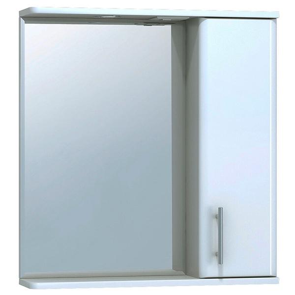 Зеркало со шкафом Vigo Vito 65 R с подсветкой Белое