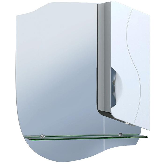 Зеркало со шкафом Vigo Callao 55 Белое зеркало со шкафом vigo callao 60 l с подсветкой белое
