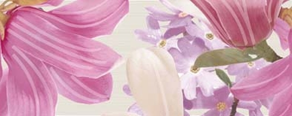 Керамический декор Ibero Charme Decor Amour Violet B 20х50см панно ibero groove decor waterefall a b c 75x75 комплект