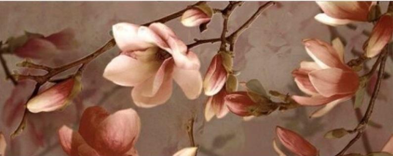 Керамический декор Ibero Charme Decor Magnolia A 20x50см панно ibero groove decor waterefall a b c 75x75 комплект