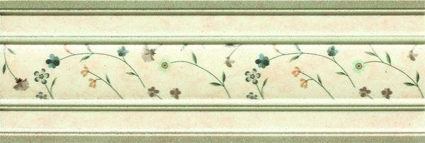 Керамический бордюр Goldencer Oldstone Cenefa Descanso Primrose 8х23,5 см