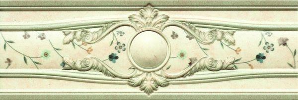 Керамический бордюр Goldencer Oldstone Cenefa Decor Primrose 8х23,5 см
