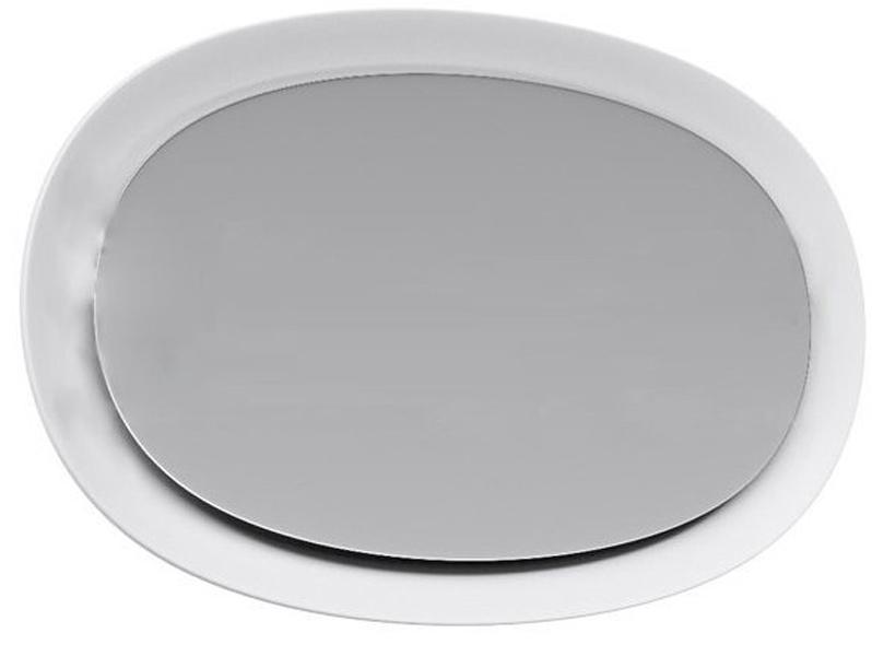 Зеркало Aqwella Дюна 96 Dun.02.10/W с подсветкой Белое