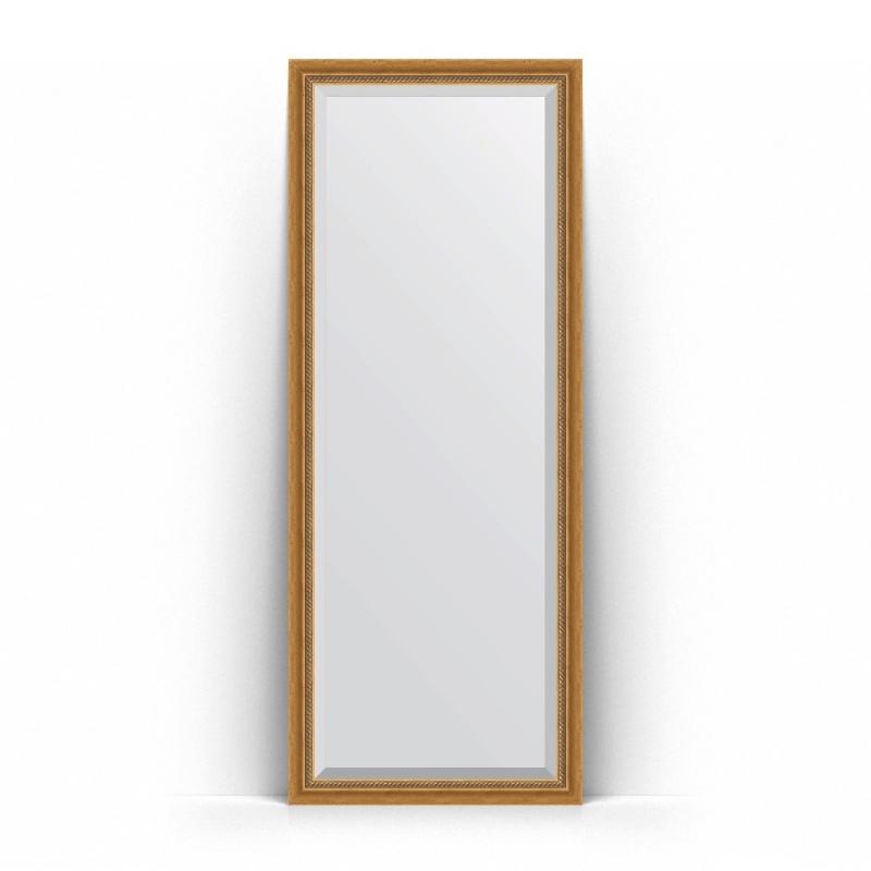 Зеркало Evoform Exclusive Floor 198х78 Состаренное золото с плетением зеркало evoform exclusive g floor 198х78 состаренное золото с плетением