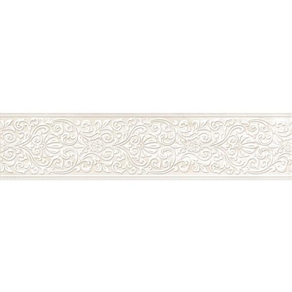 цена Керамический бордюр Pamesa Ceramica Casa Mayolica Lesotho List Nacar 15х60 см