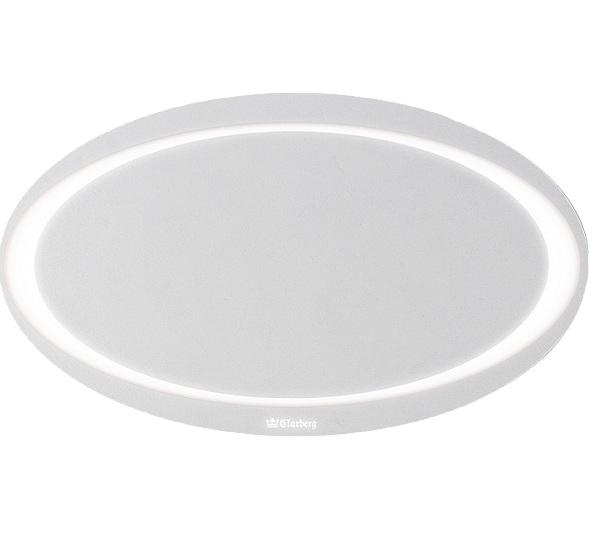 цена на Зеркало Aqwella Папирус 96 Pap.02.10 с подсветкой Белое