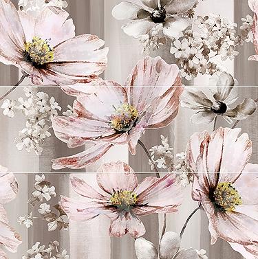 Керамический декор Ibero Poeme Beige Decor Prose (A. B, C) Cayenne 75х75см панно ibero groove decor waterefall a b c 75x75 комплект