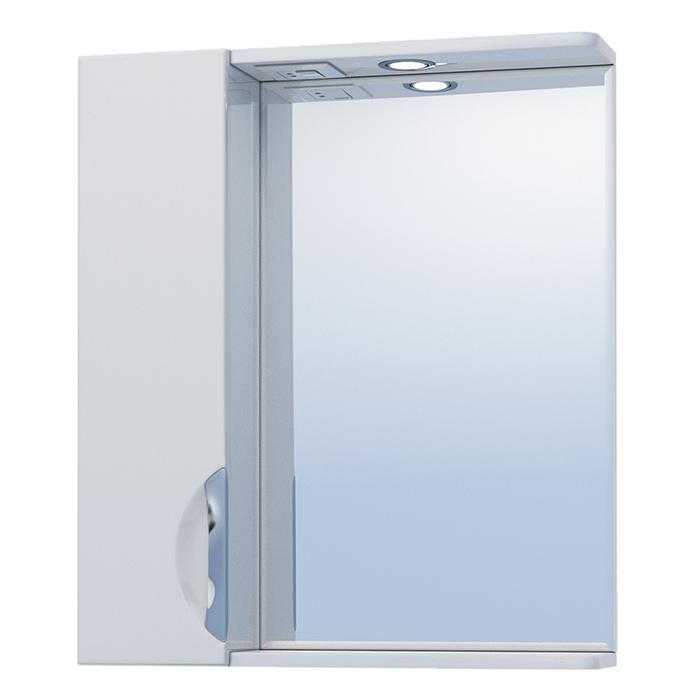 Зеркало со шкафом Vigo Callao 60 L с подсветкой Белое зеркало со шкафом vigo callao 60 l с подсветкой белое