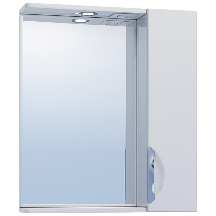 Зеркало со шкафом Vigo Callao 60 R с подсветкой Белое зеркало со шкафом vigo callao 60 l с подсветкой белое