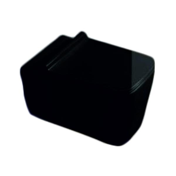Унитаз SantiLine SL-5003B подвесной с сиденьем Микролифт унитаз santiline sl 5020mb приставной с сиденьем микролифт