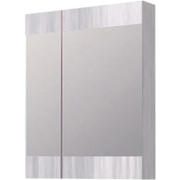 Зеркальный шкаф Aqwella Бриг 60 Br.04.06/Gray Дуб седой