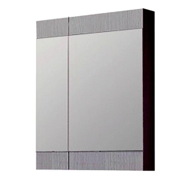 Зеркальный шкаф Aqwella Бриг 70 Br.04.07/Gray Дуб седой