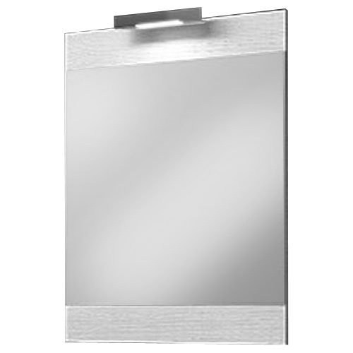 Зеркало Aqwella Бриг 60 Br.02.06/Gray с подсветкой Дуб седой