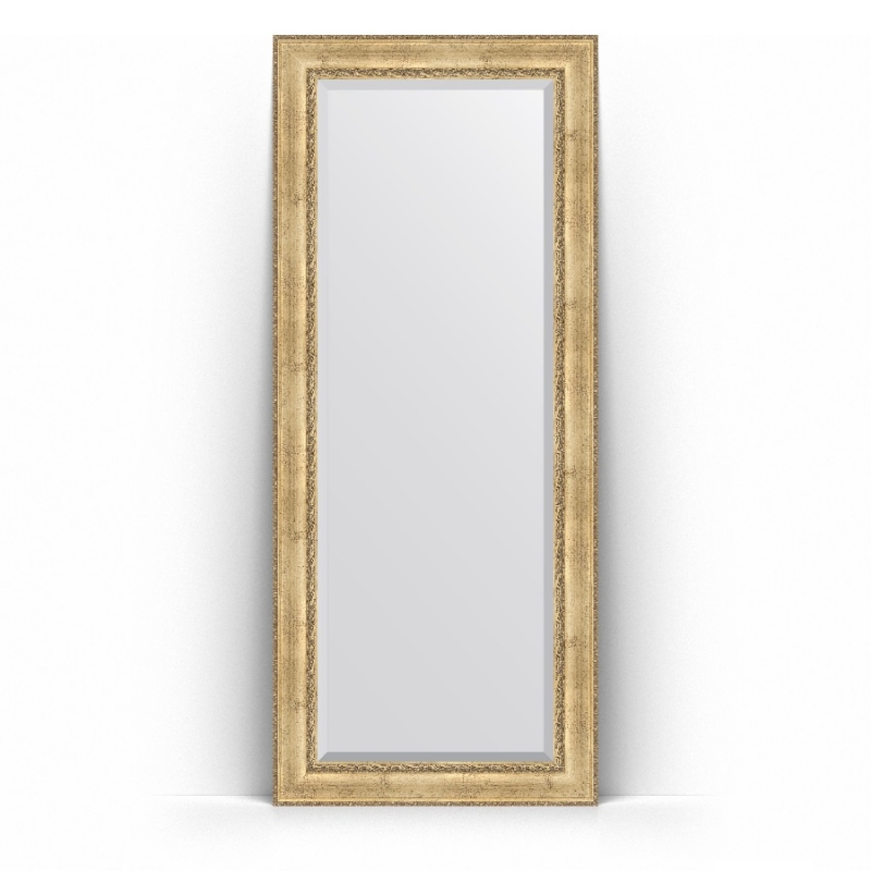 Зеркало Evoform Exclusive Floor 207х87 Состаренное серебро с орнаментом зеркало evoform exclusive g floor 207х87 состаренное серебро с орнаментом