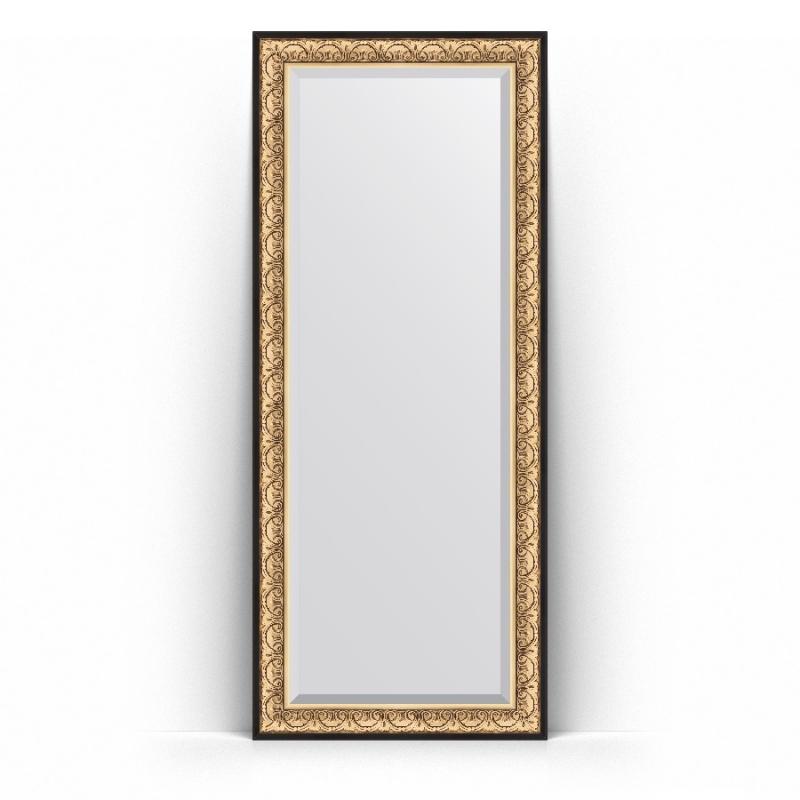 Зеркало Evoform Exclusive Floor 205х85 Барокко золото