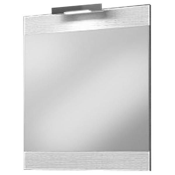 Зеркало Aqwella Бриг 70 Br.02.07/Gray с подсветкой Дуб седой