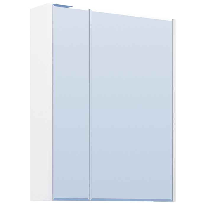 Зеркальный шкаф Vigo Laura 60 Белый зеркальный шкаф vigo mirella 80 с подсветкой белый