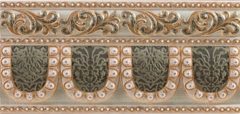 Керамический бордюр Pamesa Ceramica La Maison Tissu Alzata Esmeralda 15х31,6 см стоимость