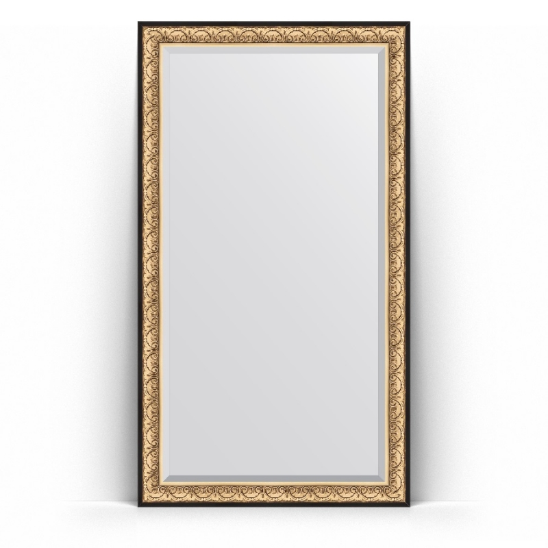 Фото - Зеркало Evoform Exclusive Floor 205х115 Виньетка серебро зеркало напольное с фацетом evoform exclusive floor 115x205 см в багетной раме виньетка серебро 109 мм by 6176