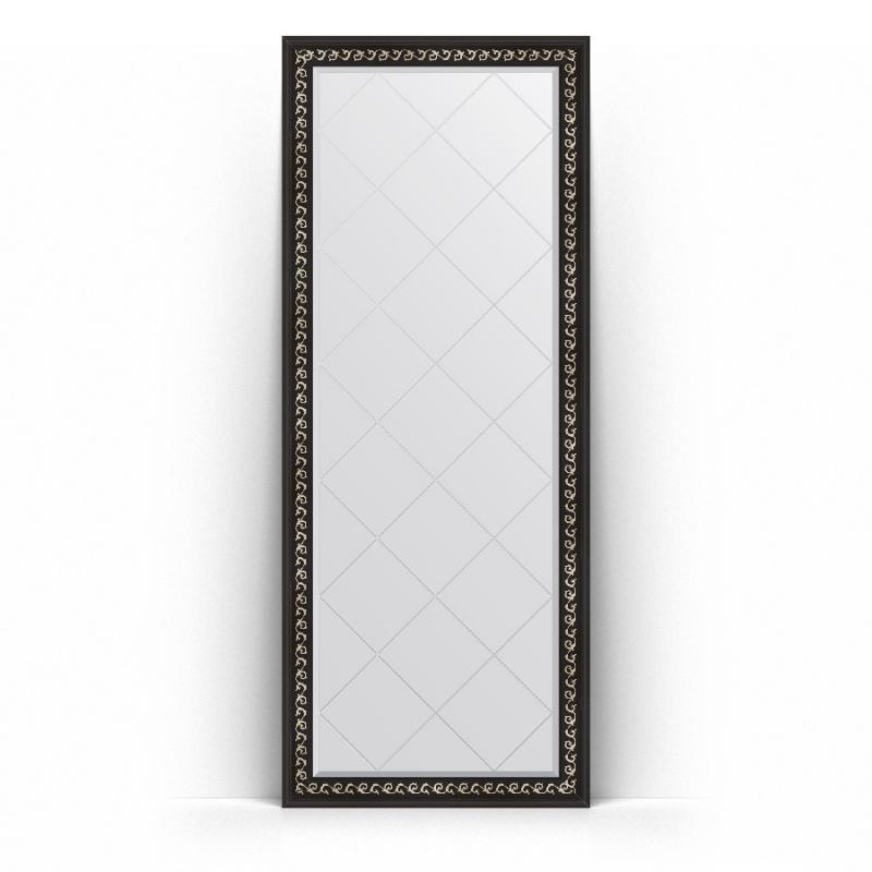 Зеркало Evoform Exclusive-G Floor 199х80 Сусальное золото зеркало evoform exclusive floor 199х100 сусальное золото