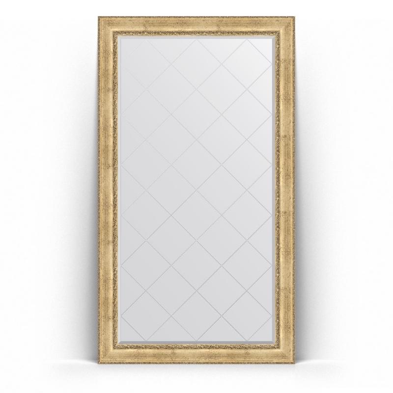 Зеркало Evoform Exclusive-G Floor 207х117 Состаренное серебро с орнаментом зеркало evoform exclusive g floor 207х87 состаренное серебро с орнаментом