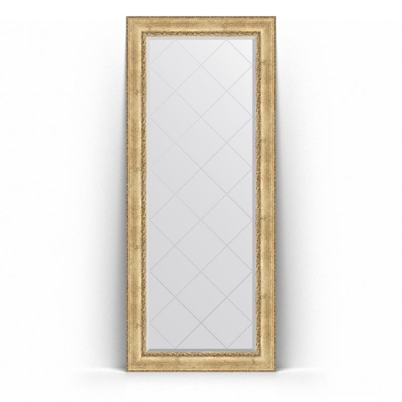 Зеркало Evoform Exclusive-G Floor 207х87 Состаренное серебро с орнаментом зеркало evoform exclusive g floor 207х87 состаренное серебро с орнаментом