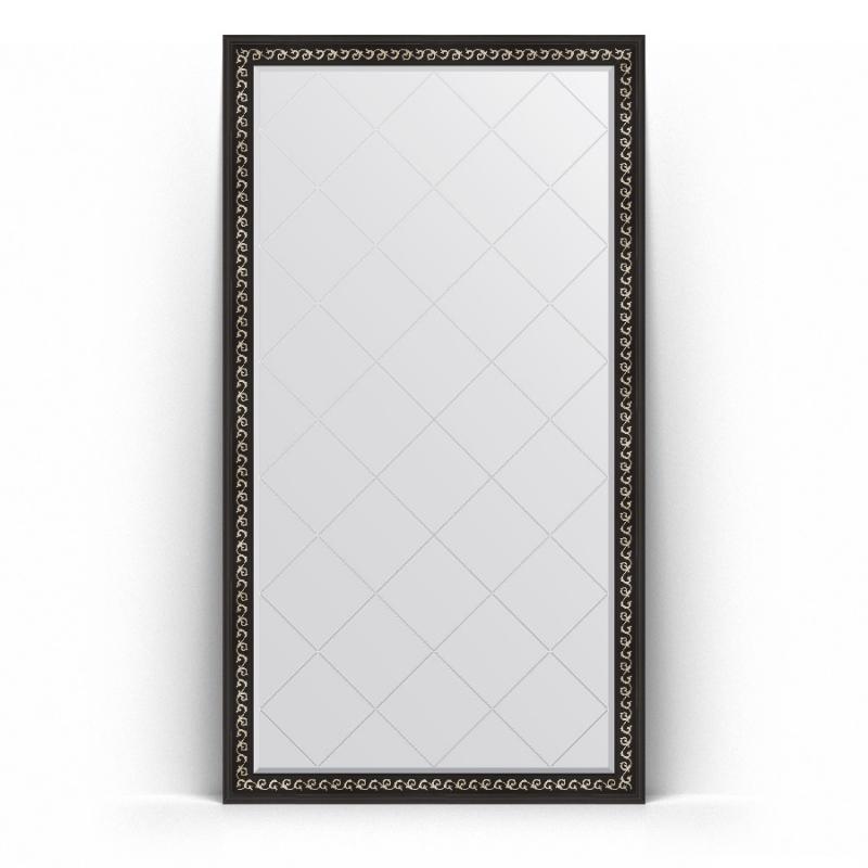 Зеркало Evoform Exclusive-G Floor 199х110 Сусальное золото зеркало evoform exclusive floor 199х100 сусальное золото