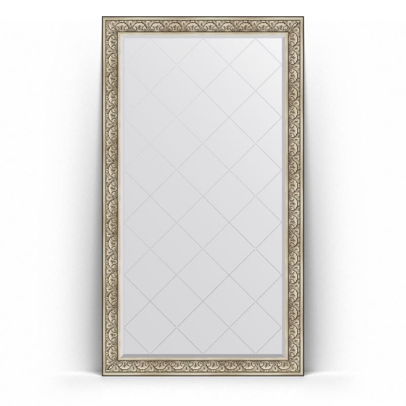 Зеркало Evoform Exclusive-G Floor 205х115 Виньетка серебро зеркало evoform exclusive g floor 205х85 виньетка серебро