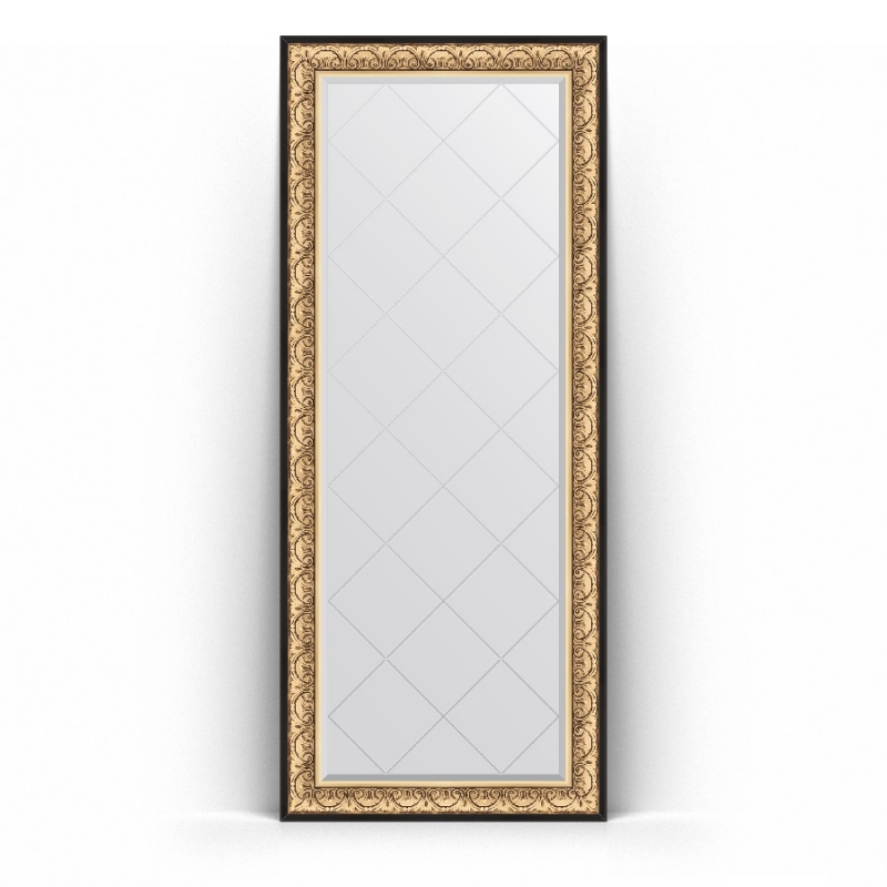 Зеркало Evoform Exclusive-G Floor 205х85 Виньетка серебро зеркало evoform exclusive g floor 205х85 виньетка серебро